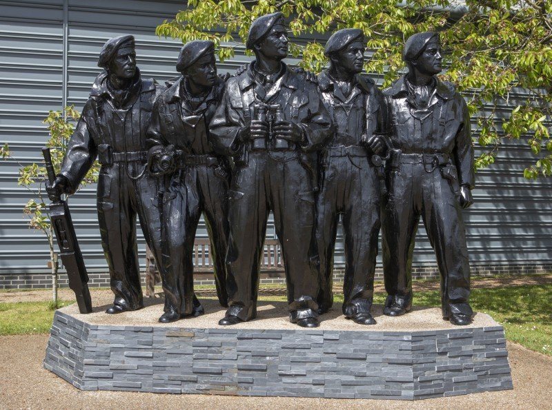 Royal Tank Regiment Memorial Statue