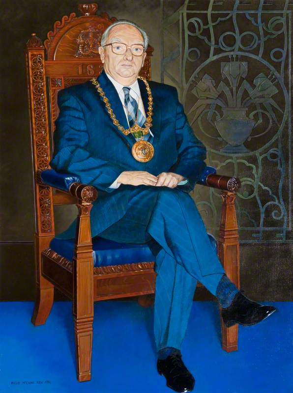 Norman A. McGowan (1926–2005), Lord Provost of Dundee (1995–1996), JP