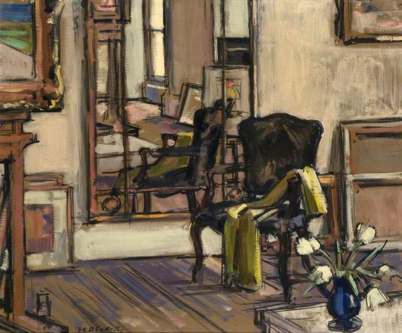 Interior, Regent Terrace, Edinburgh