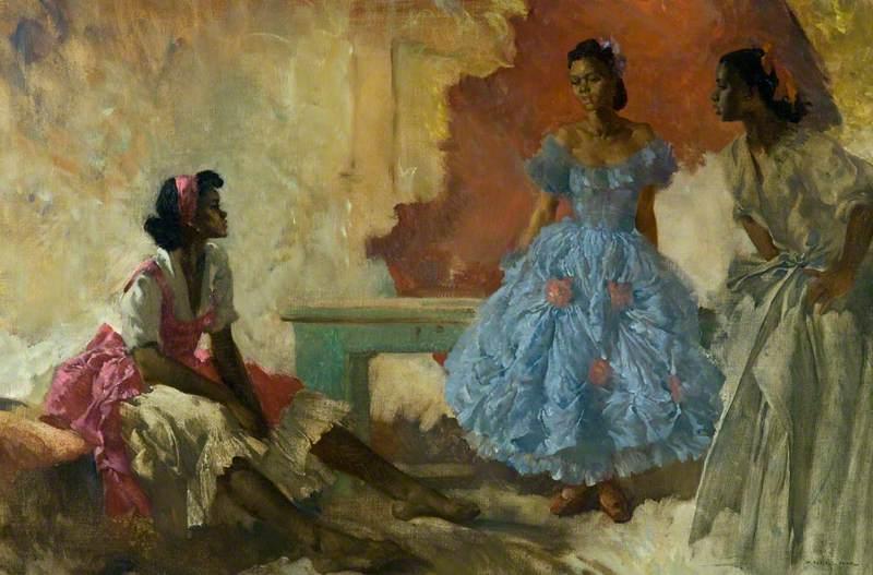 Negro Dancers – Victoria, Ora and Serafina