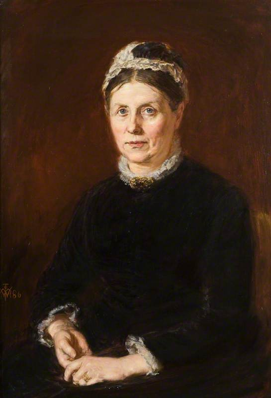 Mrs (James Guthrie) Orchar, (Catherine Nicoll, 1820–1916)