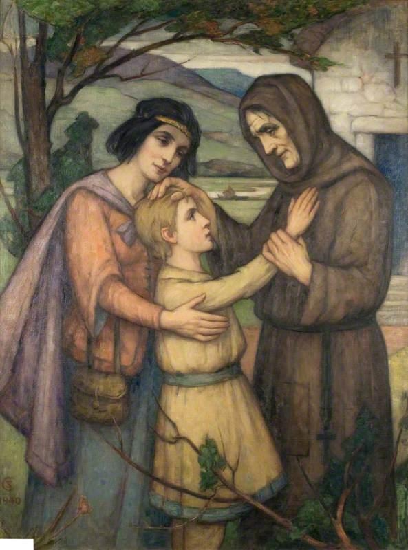 The Meeting of Saint Kentigern and Saint Fergus