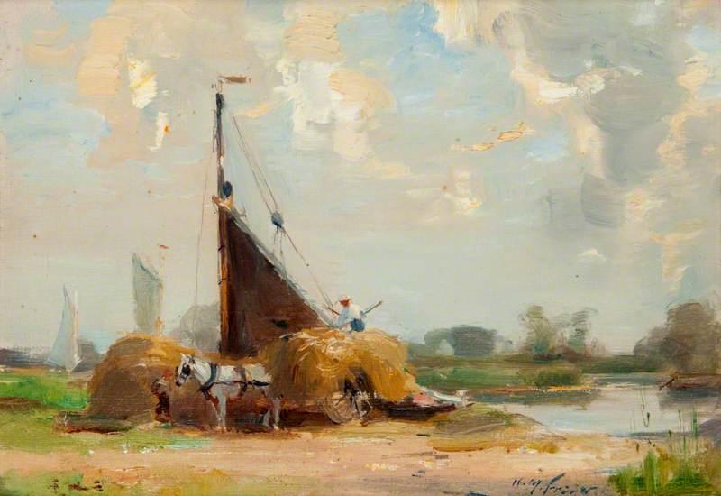 Hay Barge