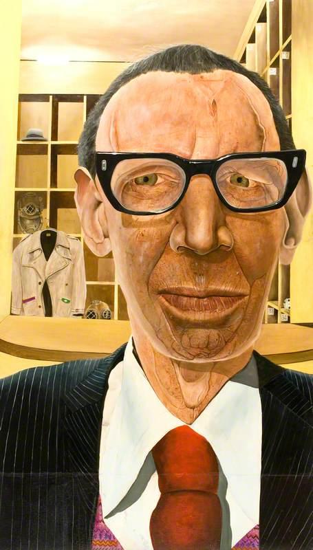 Arthur Whalen, Cloakroom Attendant, Royal Scottish Academy
