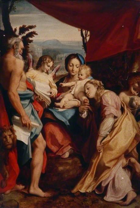 The Madonna of Saint Jerome