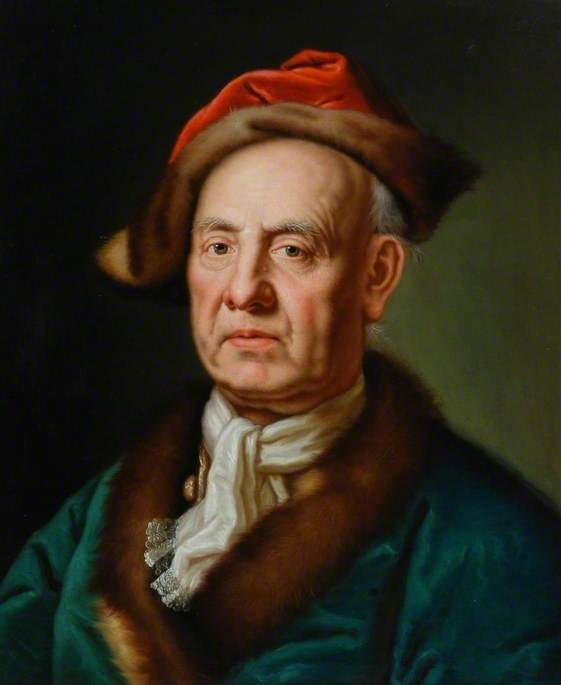 Portrait of a Man in a Fur-Trimmed Hat