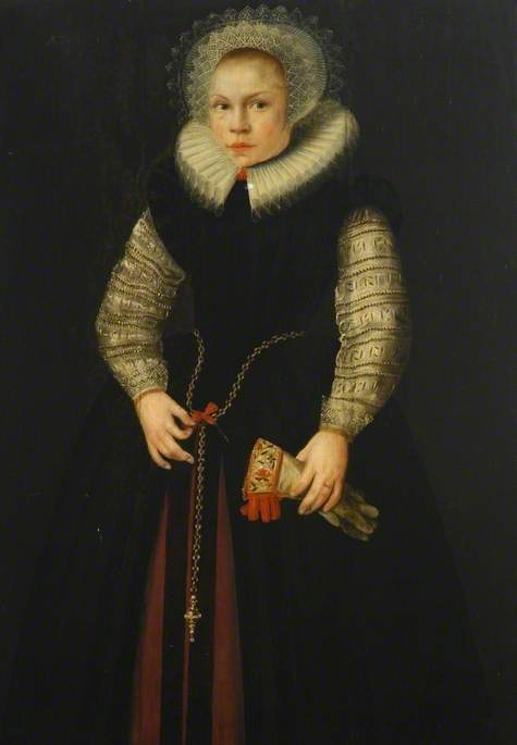 Portrait of a Girl with a Glove