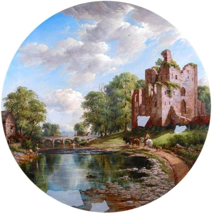Brougham Castle, near Penrith, Cumbria