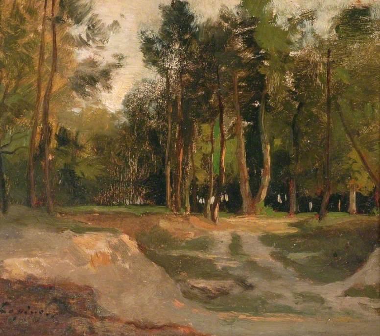 La forêt de Fontainebleau, France