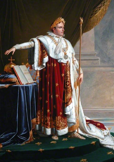 Napoleon I (1769–1821), in Coronation Robes