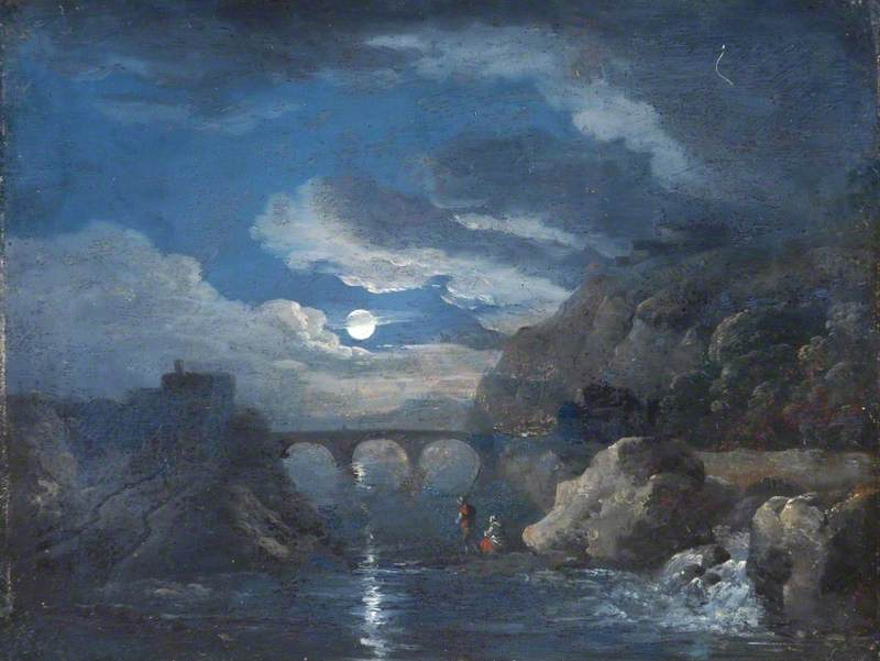 Landscape, Moonlight