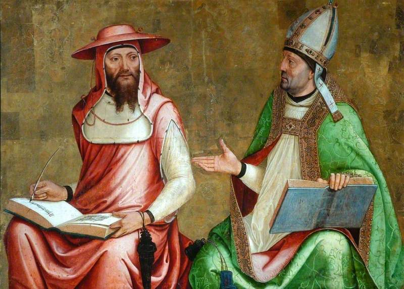 Saint Jerome and Saint Ambrose