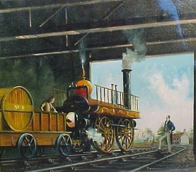 'The Globe' Locomotive