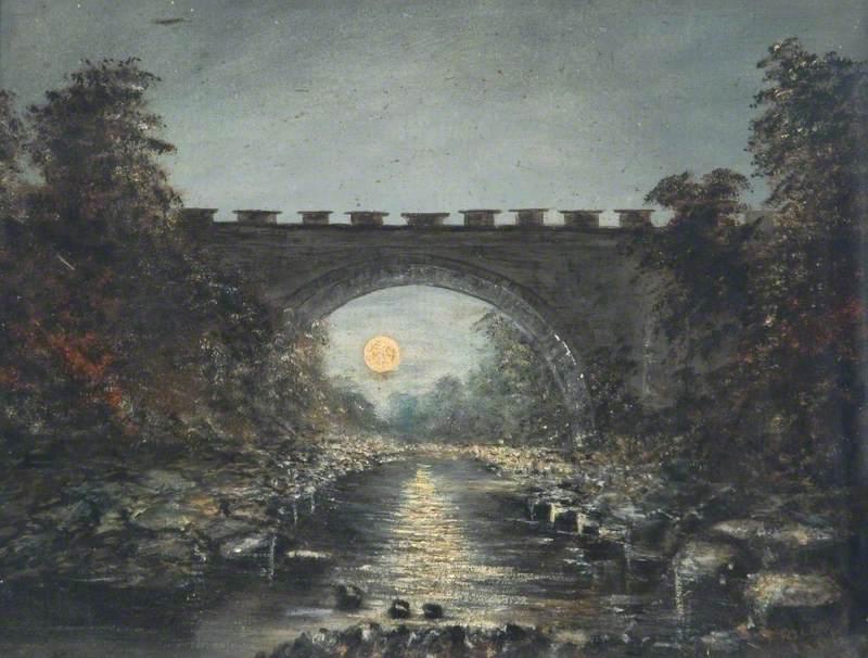 Bridge and Moonlight