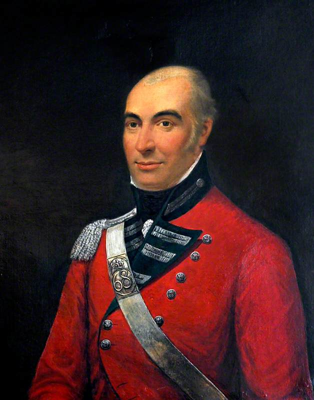 Portrait of an Unknown General of the 68th Durham Light Infantry