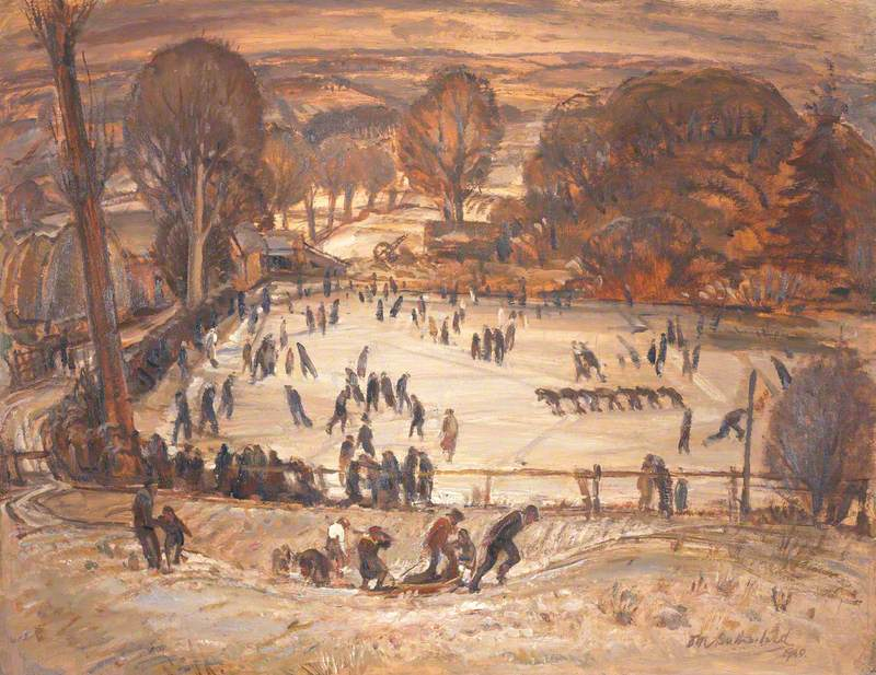Winter Landscape, West Cults, Aberdeen
