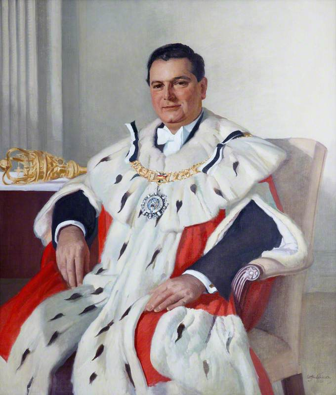 Sir James Miller (1905–1977), LLD, Lord Provost of Edinburgh (1951–1954)