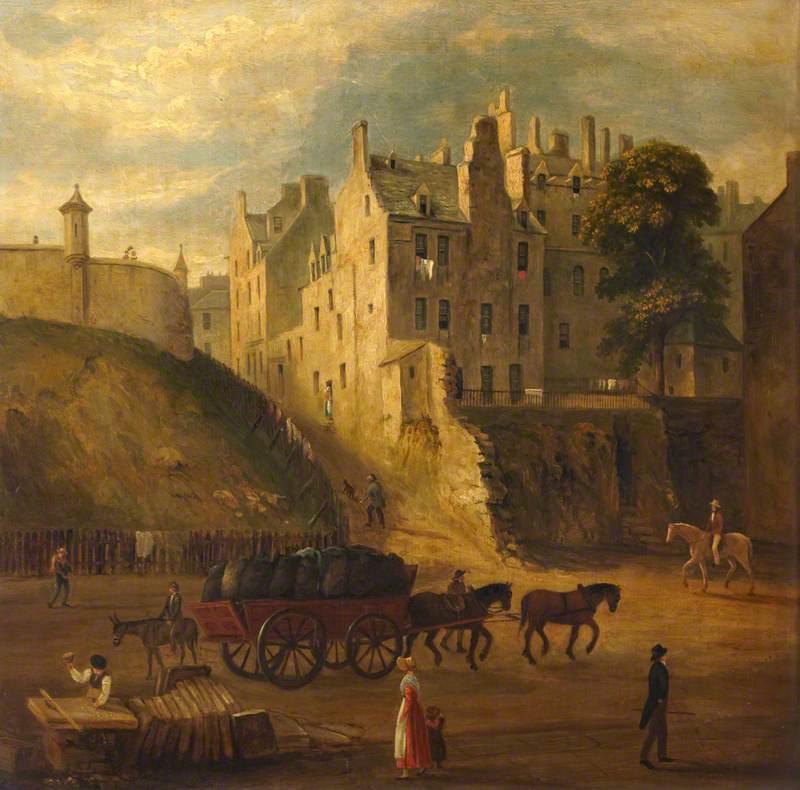 Johnston Terrace and Castle Wynd, Edinburgh