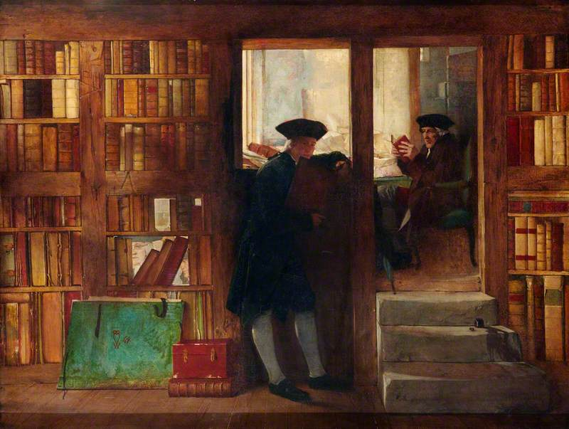 The Bibliophilist's Haunt (Creech's Bookshop)