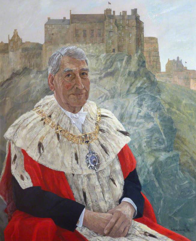 Tom Morgan, Lord Provost of Edinburgh (1980–1984)