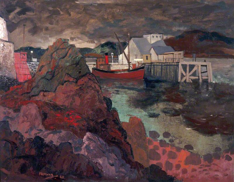 Kirn Pier, Winter