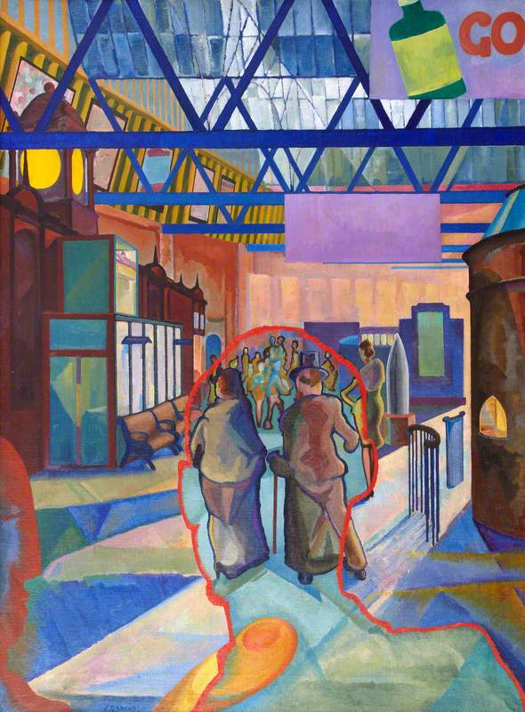 Caley Station, Edinburgh, 1942