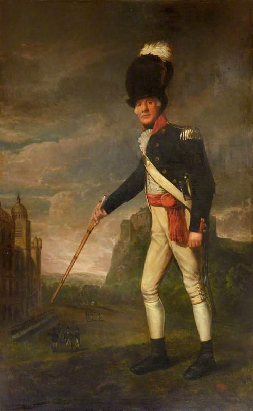 Sergeant Major Patrick Gould, Royal Regiment, Edinburgh Volunteers, 1794