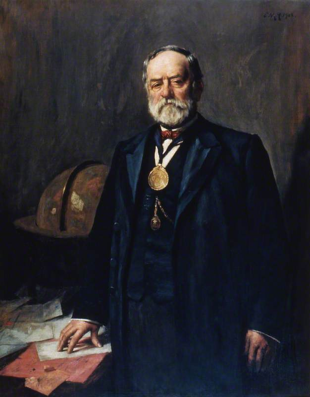 Mr Abraham Howling, Master of Trinity House (1901–1902)