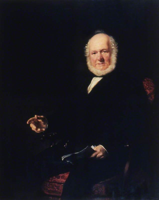 Mr Walter Paton, Master of Trinity House (1856–1868)