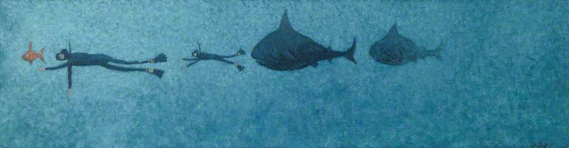 Sharks in Pursuit of Divers