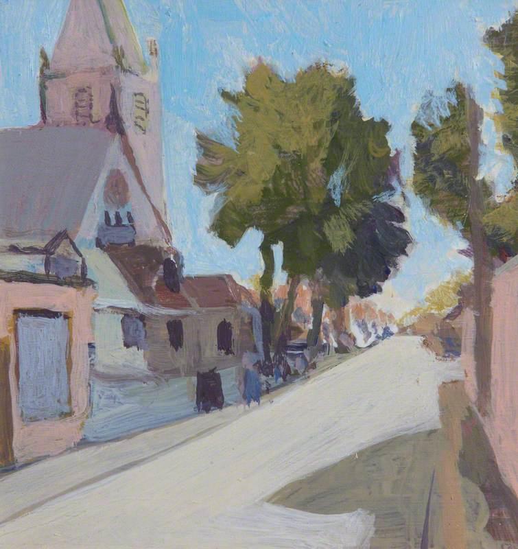 Corstorphine Past/Present 1: St John's Road Looking East