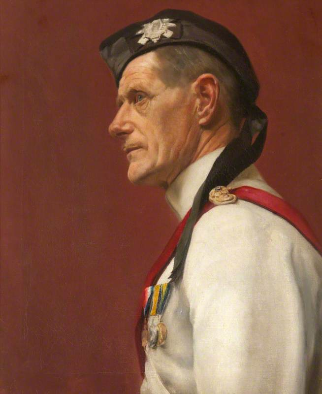 Portrait of an Unknown Officer