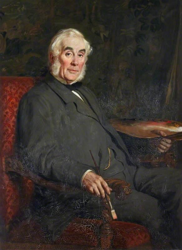 Sir Daniel Macnee (1806–1882), PRSA