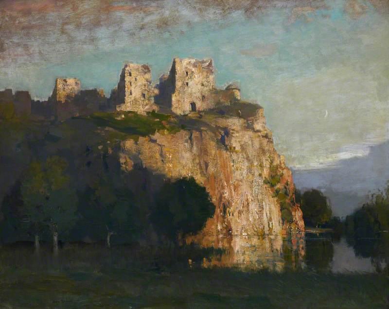 A Dream of the Nor' Loch and Edinburgh Castle