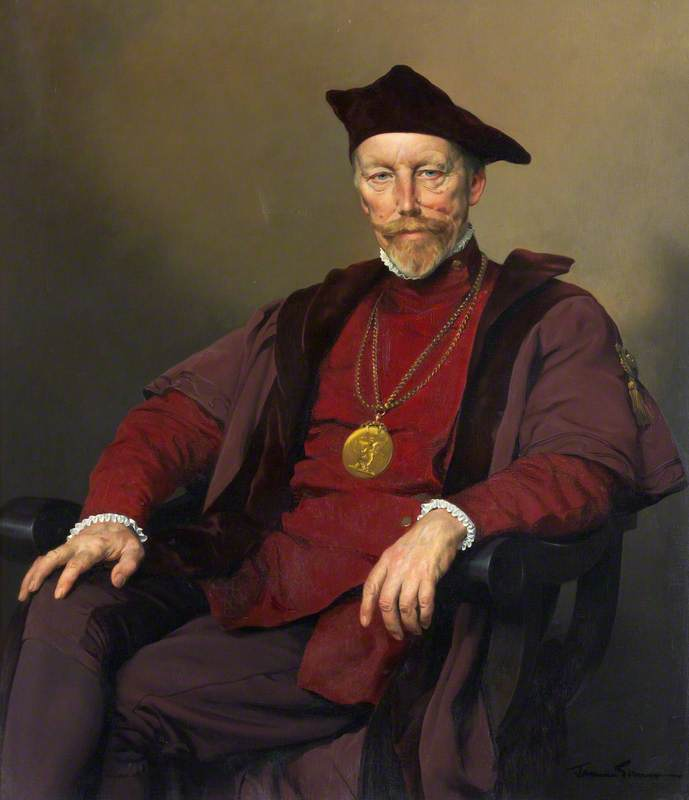 Sir William Oliphant Hutchison (1889–1970), PRSA