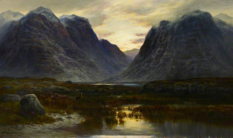 Coire-na-Faireamh, in Applecross Deer Forest, Ross-shire