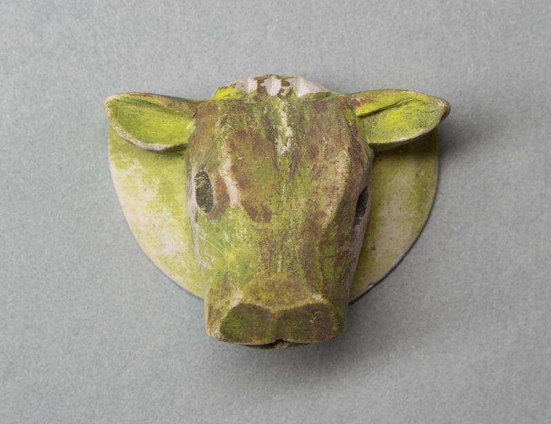 Maquette of a Calf Head, for a Public Fountain, Callander*