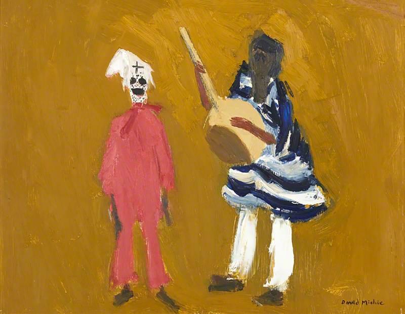 Musician and Clown – Le grand ballet de Senegal