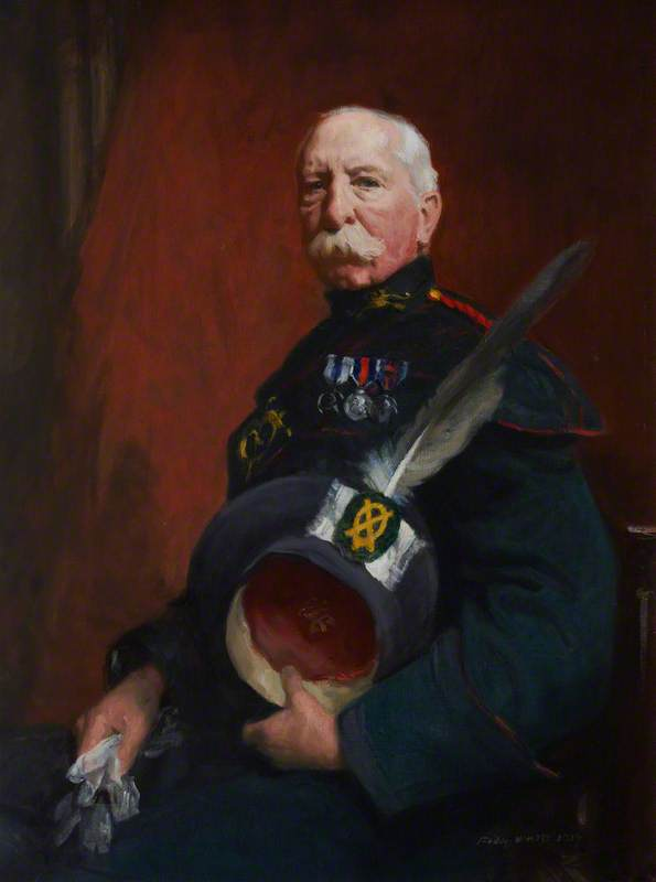 Sir Henry Cook in Archers Uniform