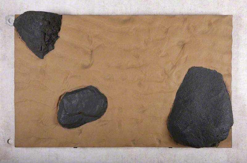 Study of Rippled Sand and Black Rocks, Hebrides