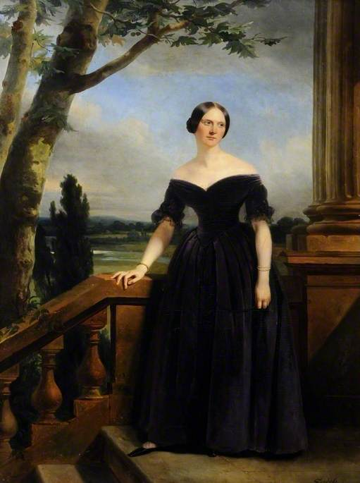 Eliza Chichester (1798–1859), Sister to Lady Marianne Clifford Constable