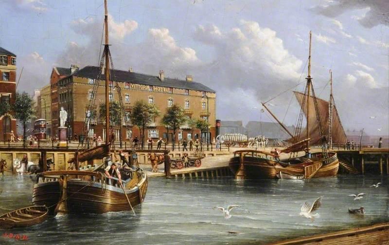 Vittoria Hotel, the Pier, Hull