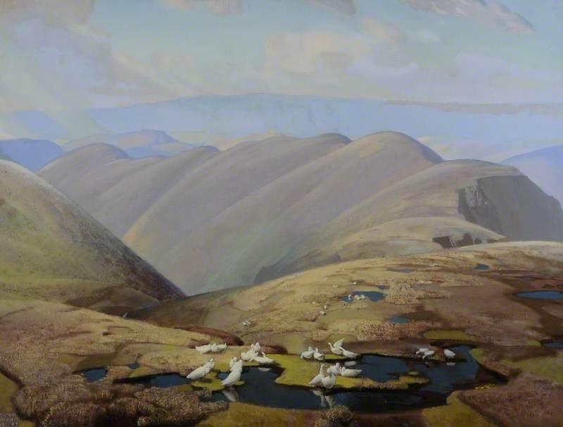 Cross Fell from Calf, Sedbergh Fells, Cumbria