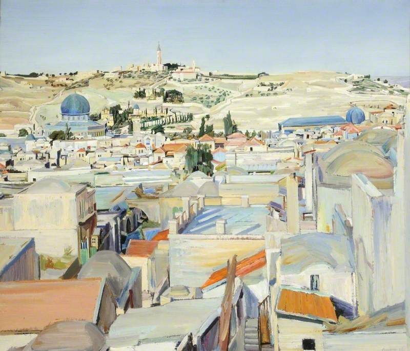 Jerusalem, City and Mount of Ascension