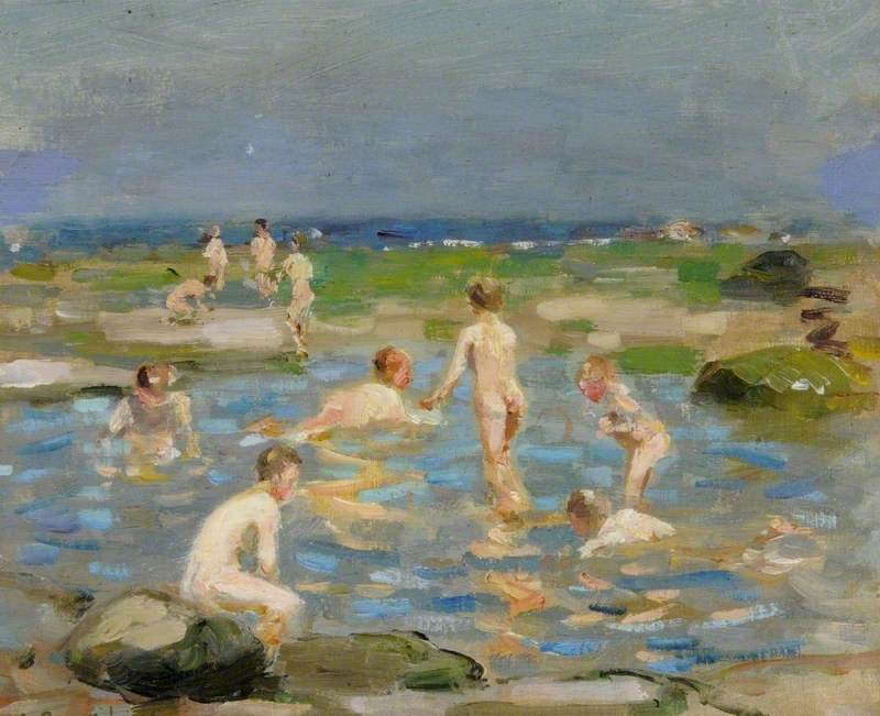 Boys Bathing