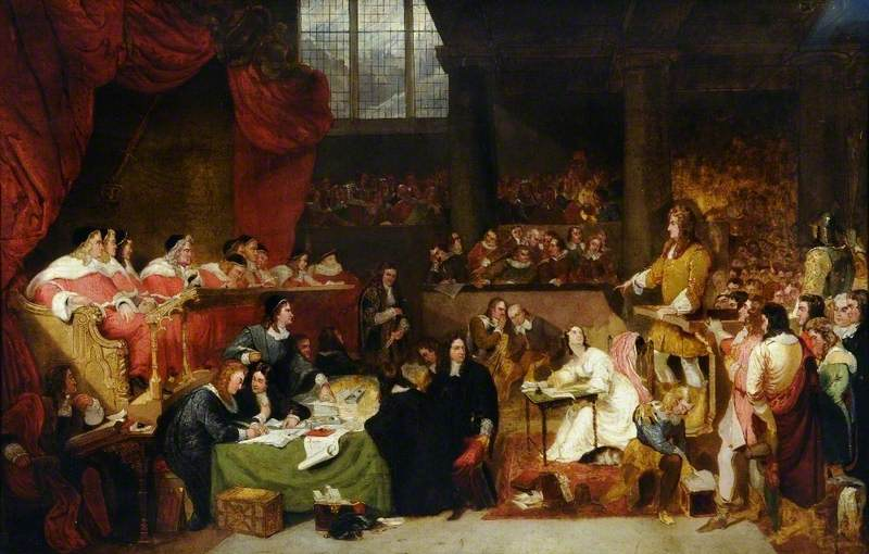 The Trial of William Lord Russell in 1683