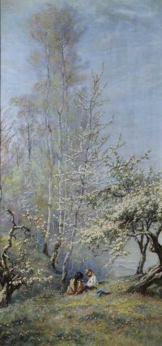 Spring at Calvados, France