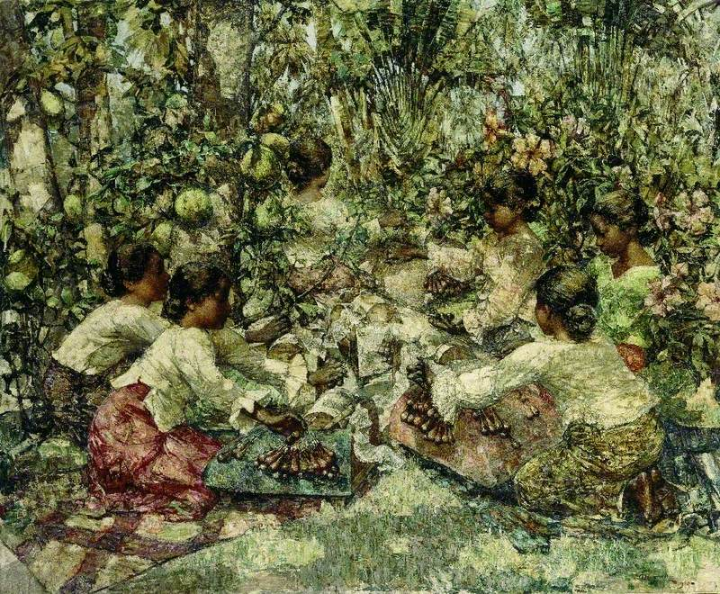 Lacemakers, Ceylon