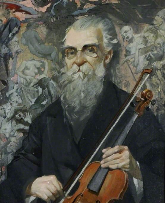 Spanish Cellist, Agustín Rubio