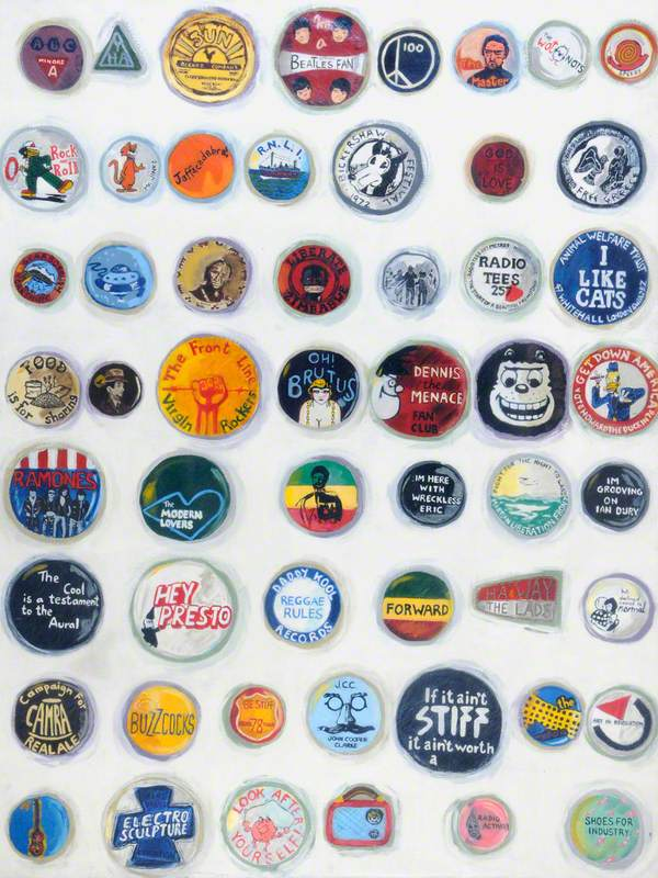 Badges, a Personal History